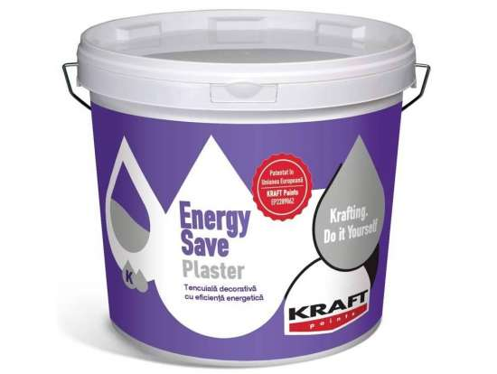 Tencuiala decorativa KRAFT Energy Save Plaster K10 20Kg