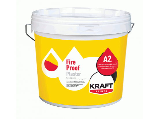 Tencuiala decorativa KRAFT Fire Proof Plaster 25Kg